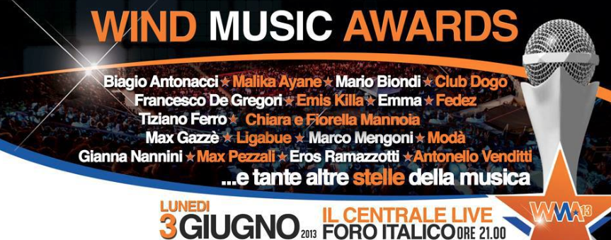 Wind Music Award al Foro Italico